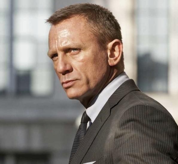 Daniel Craig Skyfall hair cut